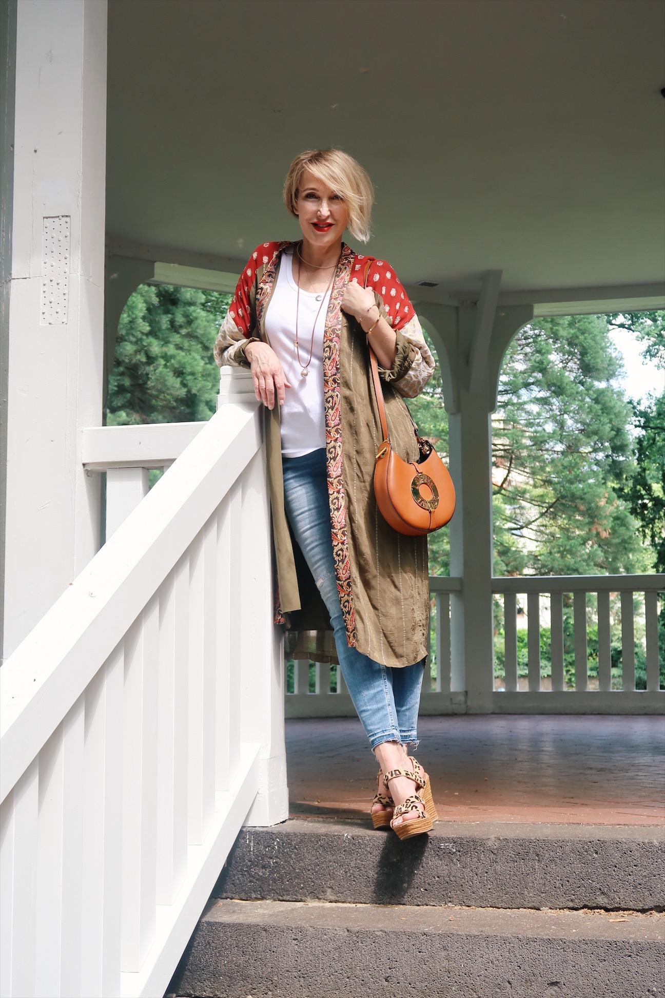 Der Kimono Trend und ein Post-Besuch