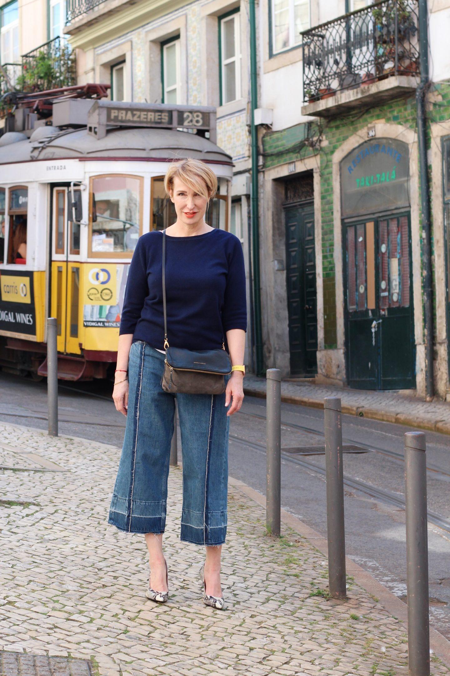 Culottes – Wie trage ich sie mit einer X-Figur