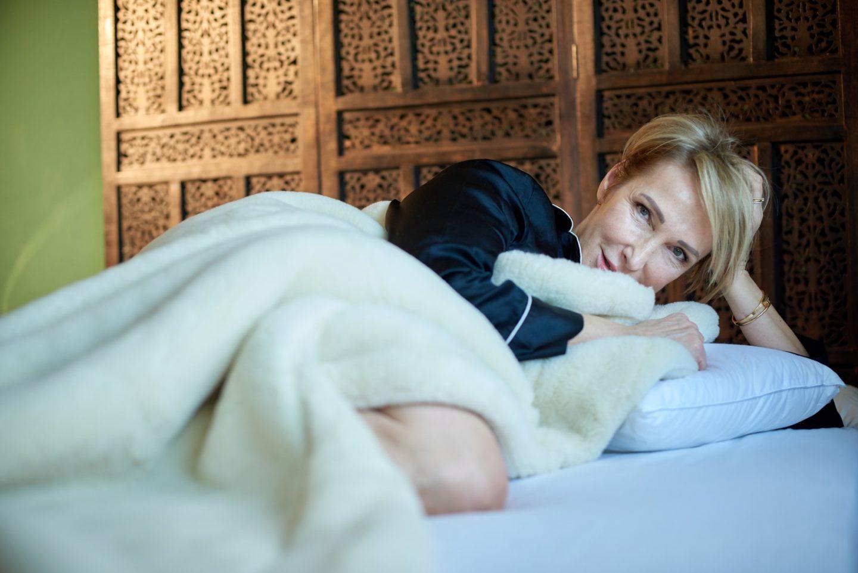 Über Schlafverhalten und meine neue naturschlaf Bettdecke