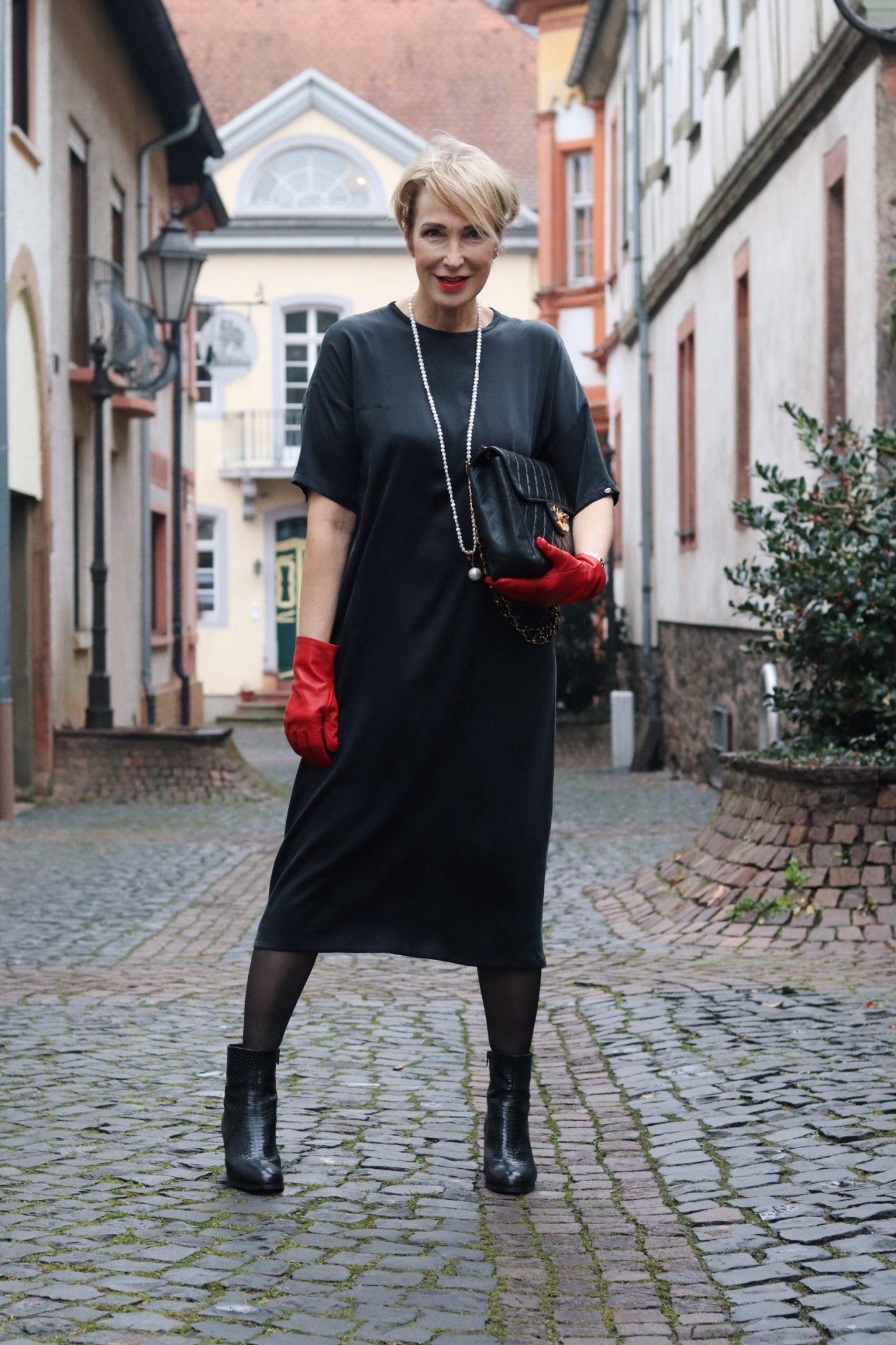 Ein maßgeschneidertes Seidenkleid von Susanne Landis